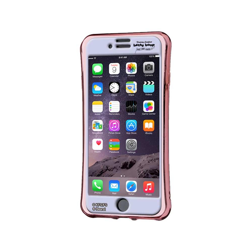 【JENNY KAORIコラボ】iPhone8/7専用シールプロテクターカバー ギズモビーズ ネオ(BETTY BABY)ZN-0007-IP7T BB