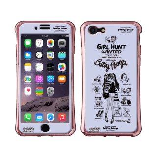 【生産終了品】【JENNY KAORIコラボ】iPhone8/7専用シールプロテクターカバー ギズモビーズ ネオ(BETTY BABY)ZN-0007-IP7T BB