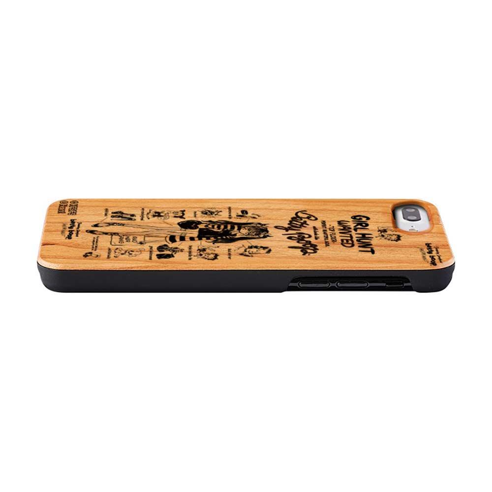 【JENNY KAORIコラボ】iPhone8Plus/7Plus対応 背面ケース(BETTY BABY WOOD)AB-0869-IP7P BB