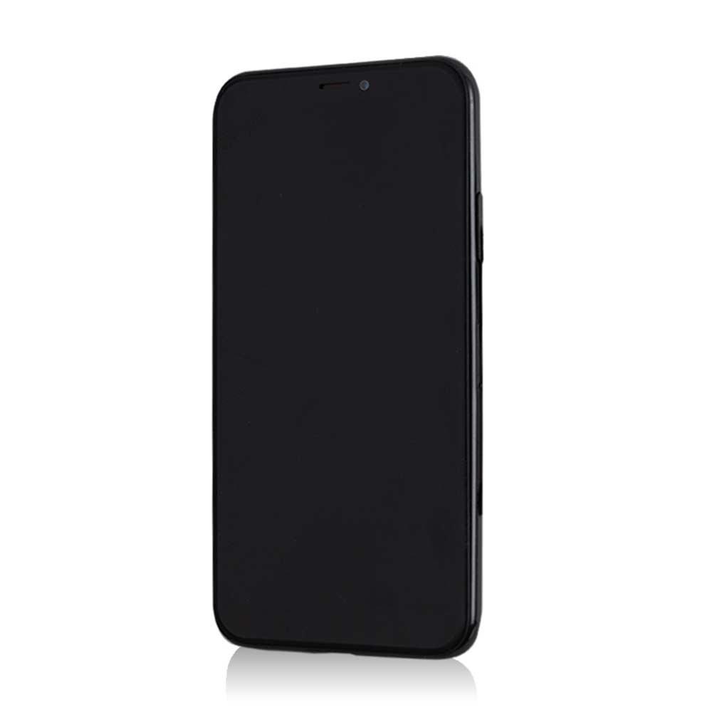 iPhoneX/XS専用シールプロテクターカバー ギズモビーズ STARING EYES ZN-0004-IP0X BB