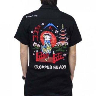 【CROPPED HEADS】舞妓ベティースカシャツ(ブラック)M BTY-31 BB