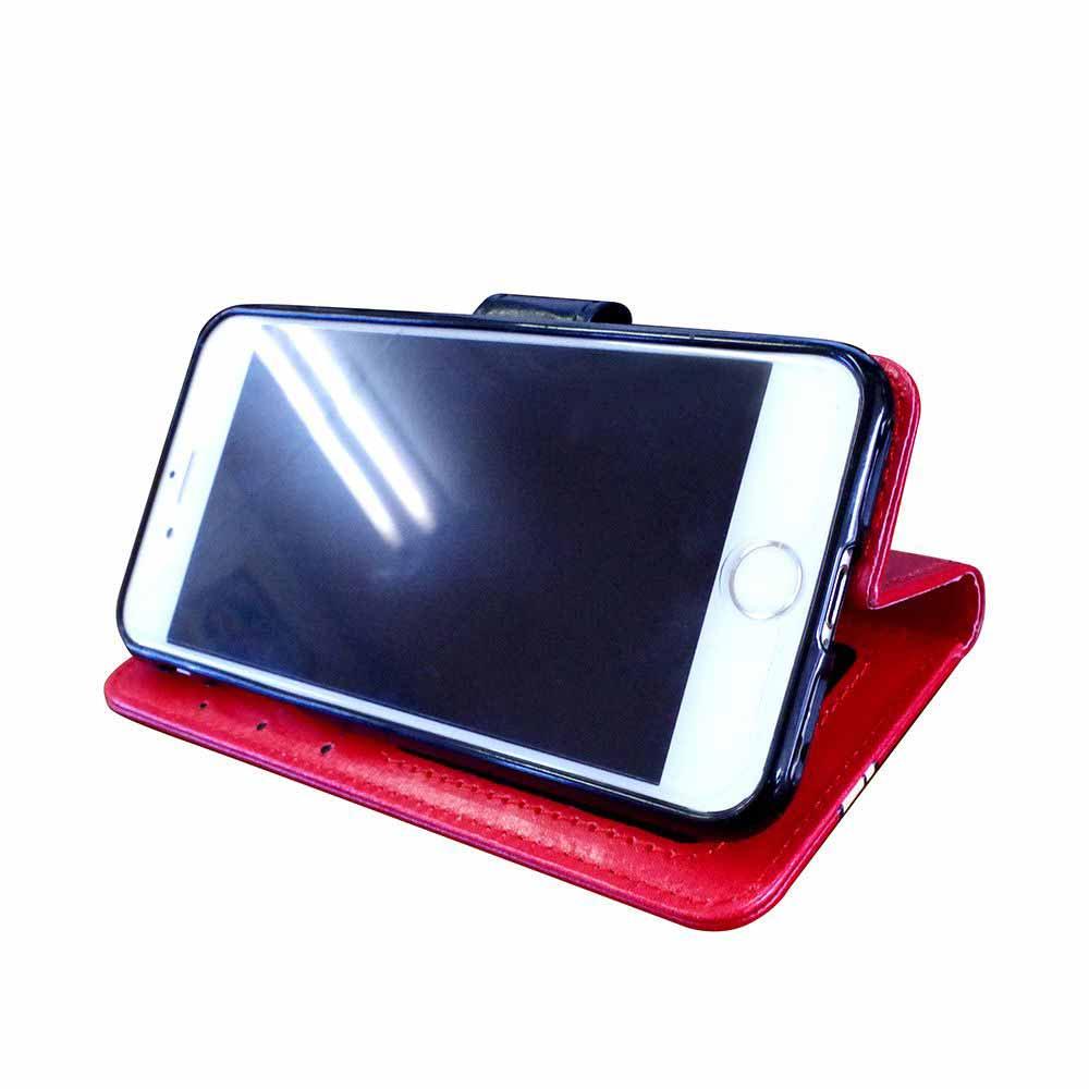 iPhoneX対応 フリップケース(BT-RED) BB