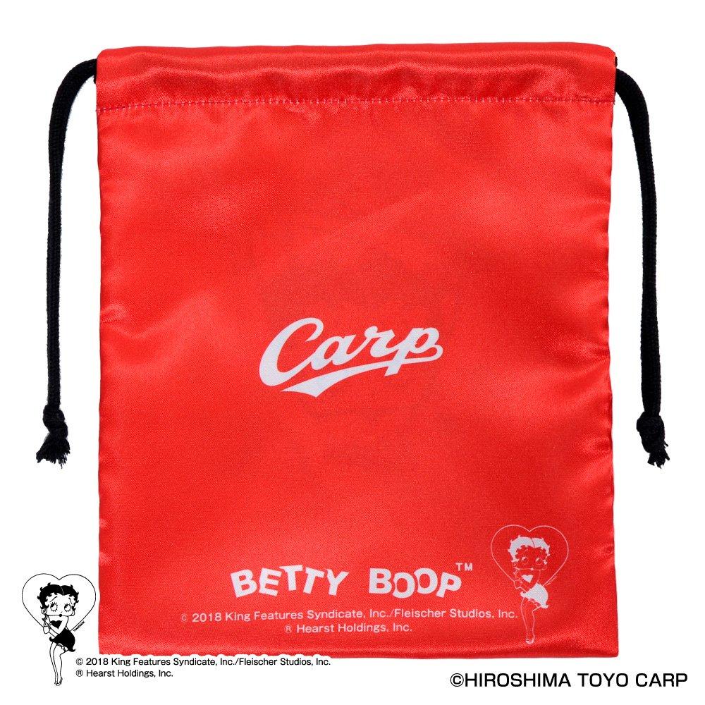 【BETTY BOOP×カープ】巾着  BB
