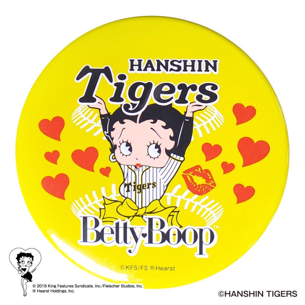 【BETTY BOOP×タイガース】ドデカ缶バッジ  BB