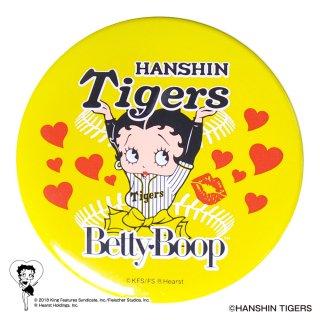 【生産終了品】【BETTY BOOP×タイガース】ドデカ缶バッジ  BB
