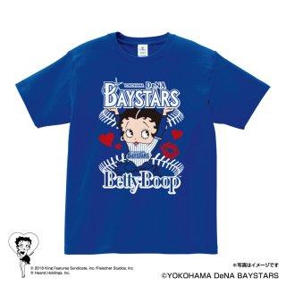 【BETTY BOOP×ベイスターズ】Tシャツ(M)  BB