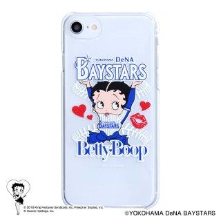 【生産終了品】【BETTY BOOP×ベイスターズ】iPhone6/7/8対応クリアケース BB