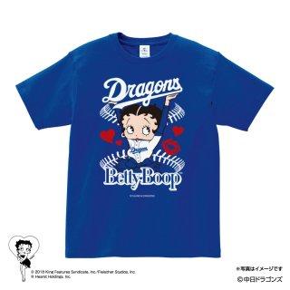 【生産終了品】【BETTY BOOP×ドラゴンズ】Tシャツ(M)  BB