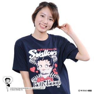 【生産終了品】【BETTY BOOP×スワローズ】Tシャツ(L)BB
