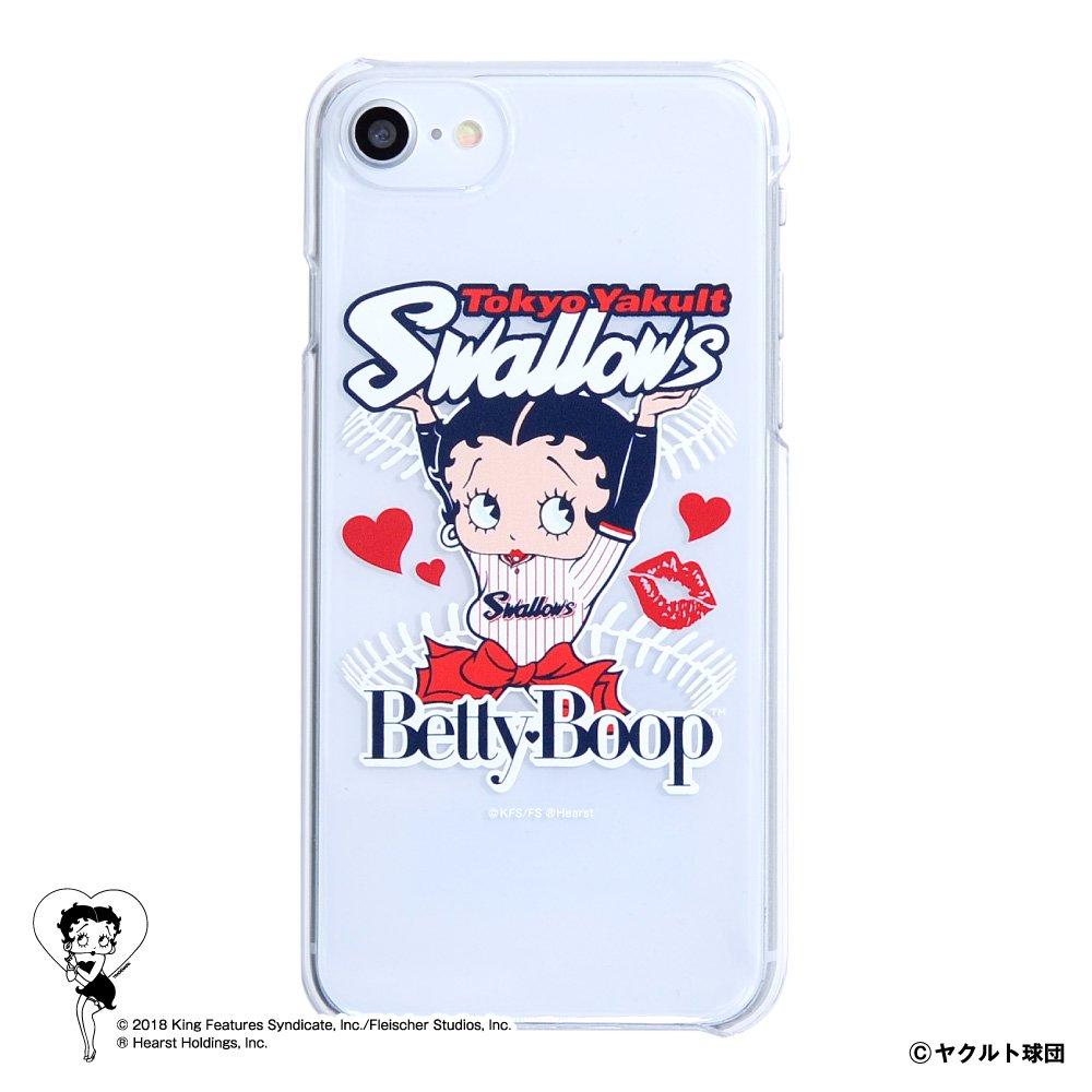 【BETTY BOOP×スワローズ】iPhoneクリアケース  BB