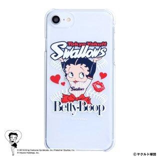 【生産終了品】【BETTY BOOP×スワローズ】iPhone6/7/8対応クリアケース BB