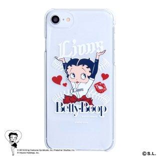 【生産終了品】【BETTY BOOP×ライオンズ】iPhone6/7/8対応クリアケース BB