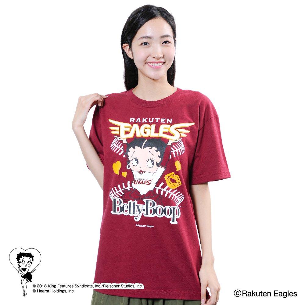 【BETTY BOOP×イーグルス】Tシャツ(M)  BB
