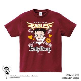 【生産終了品】【BETTY BOOP×イーグルス】Tシャツ(L)BB