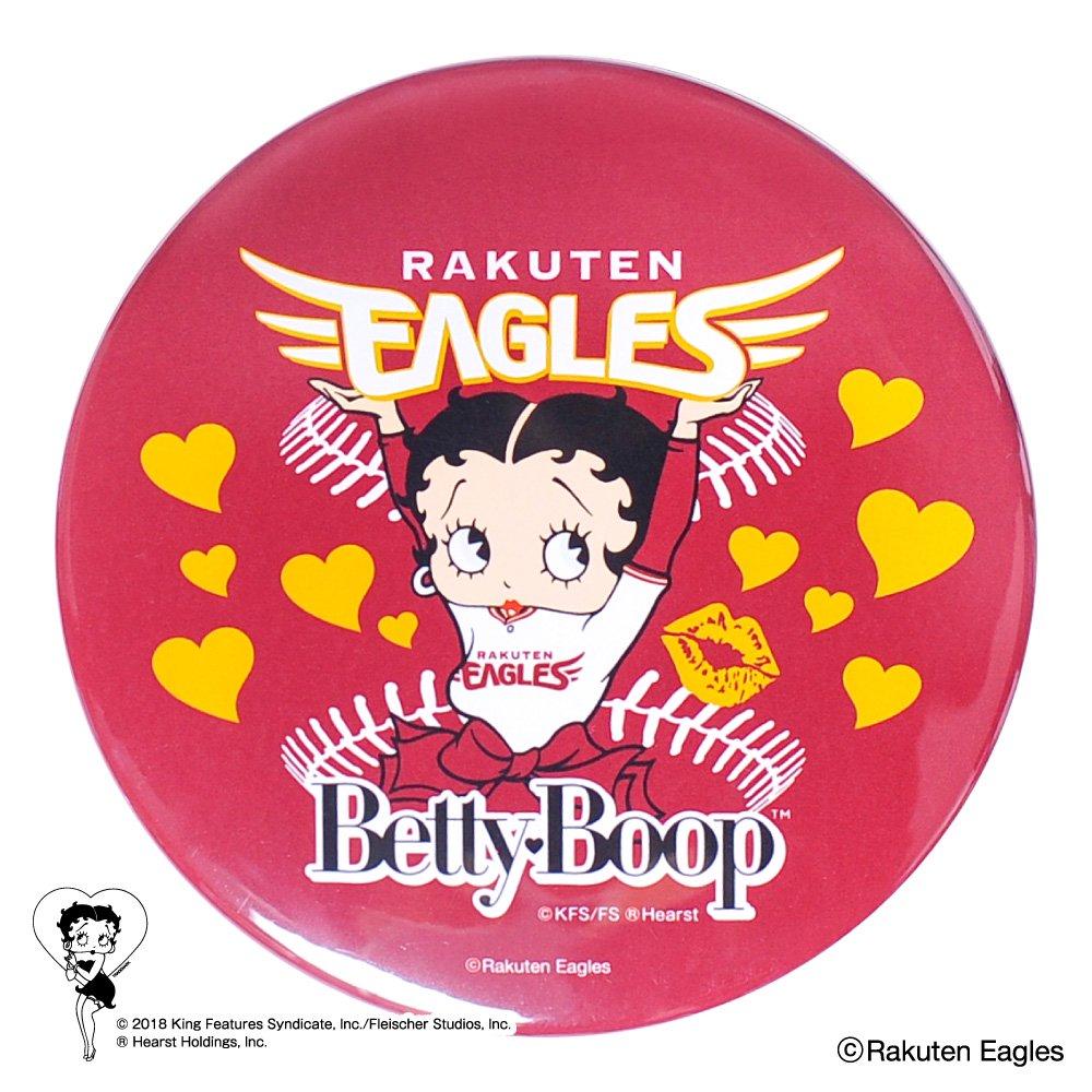 【BETTY BOOP×イーグルス】ドデカ缶バッジ  BB