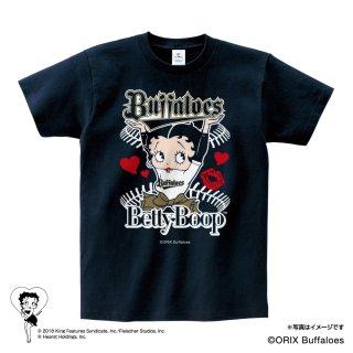 【生産終了品】【BETTY BOOP×バファローズ】Tシャツ(L)BB