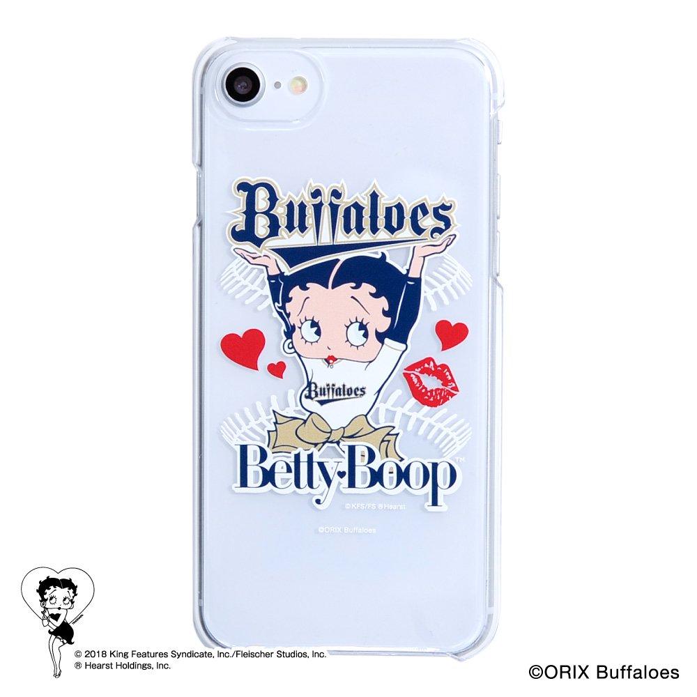 【BETTY BOOP×バファローズ】iPhoneクリアケース  BB