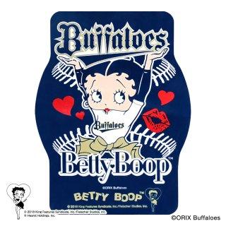 【生産終了品】【BETTY BOOP×バファローズ】ステッカー BB