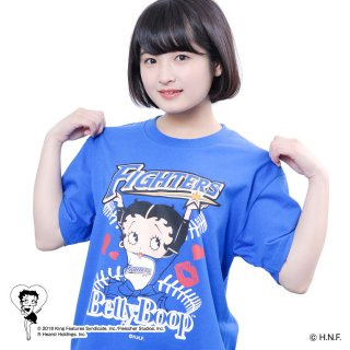 【生産終了品】【BETTY BOOP×ファイターズ】Tシャツ(M) BB