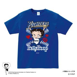 【生産終了品】【BETTY BOOP×ファイターズ】Tシャツ(L)BB