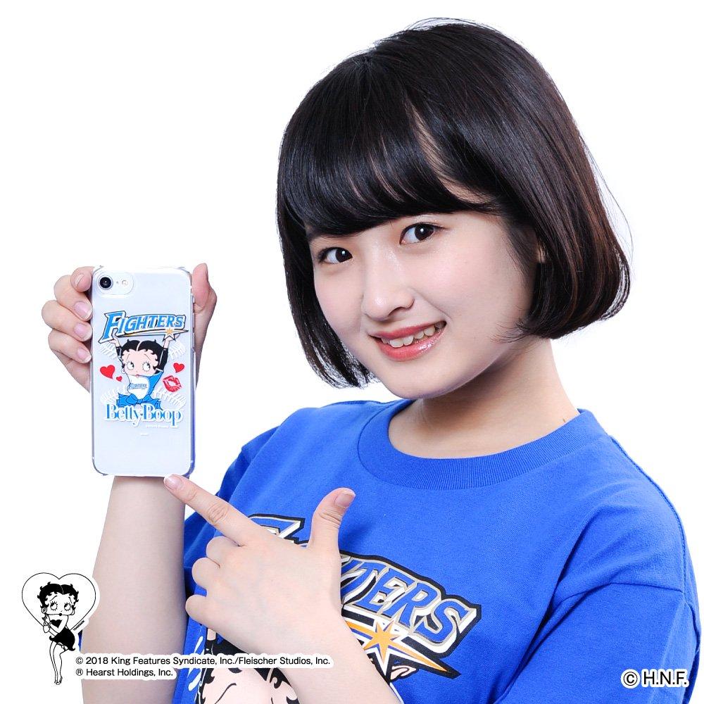 【BETTY BOOP×ファイターズ】iPhoneクリアケース  BB
