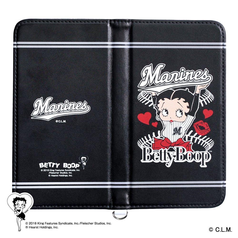 【BETTY BOOP×マリーンズ】マルチスマホケース  BB