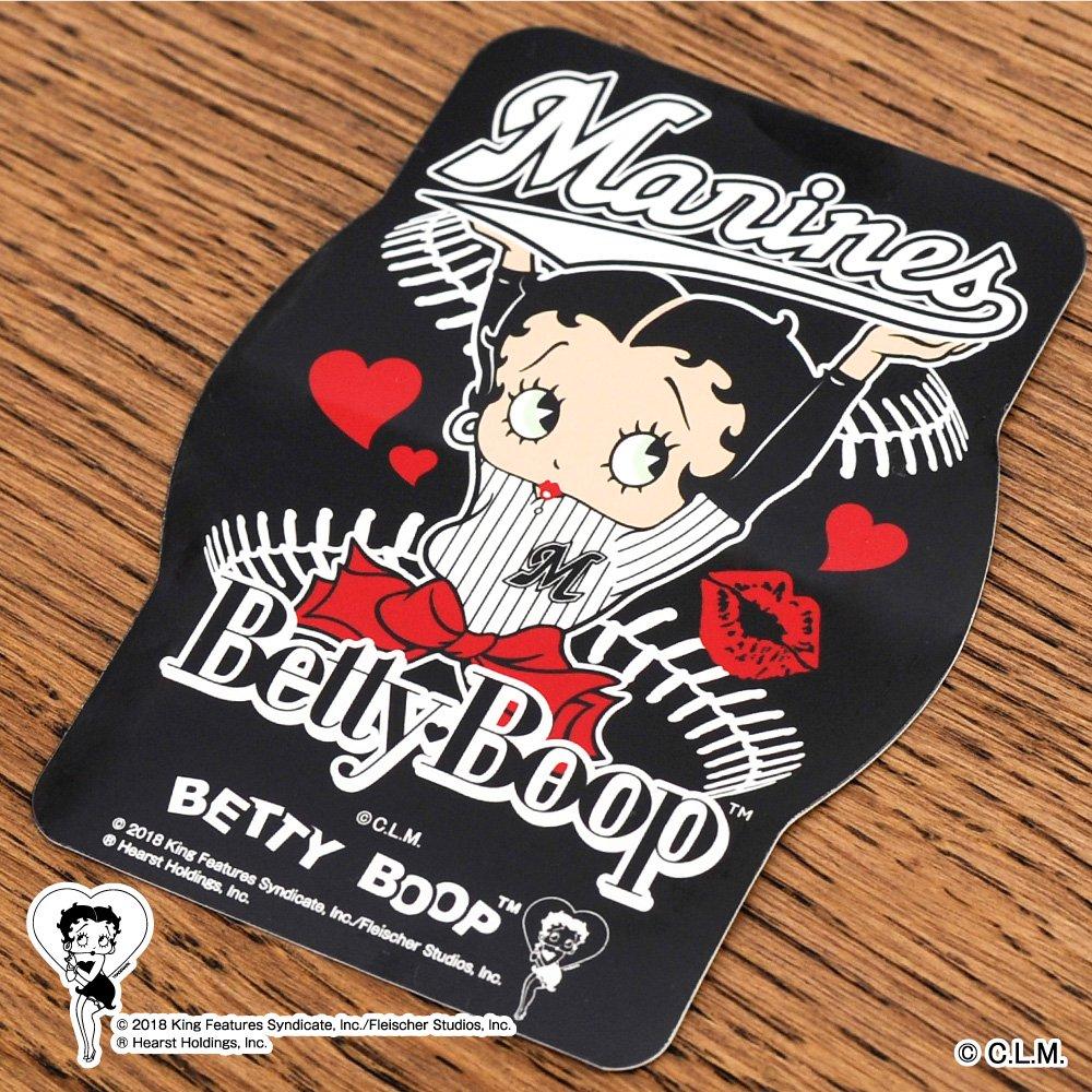 【BETTY BOOP×マリーンズ】ステッカー  BB