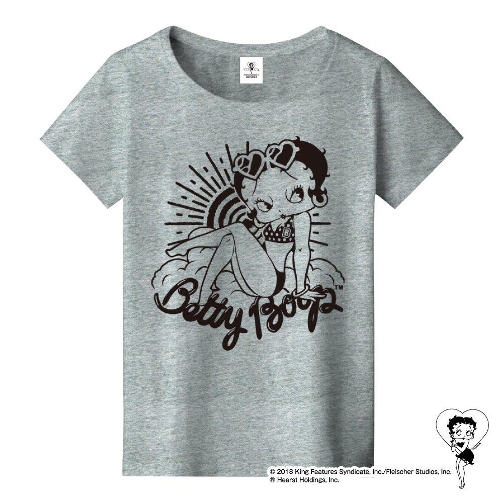 ★日焼けベティー★Tシャツ(メランジグレー)WL BB