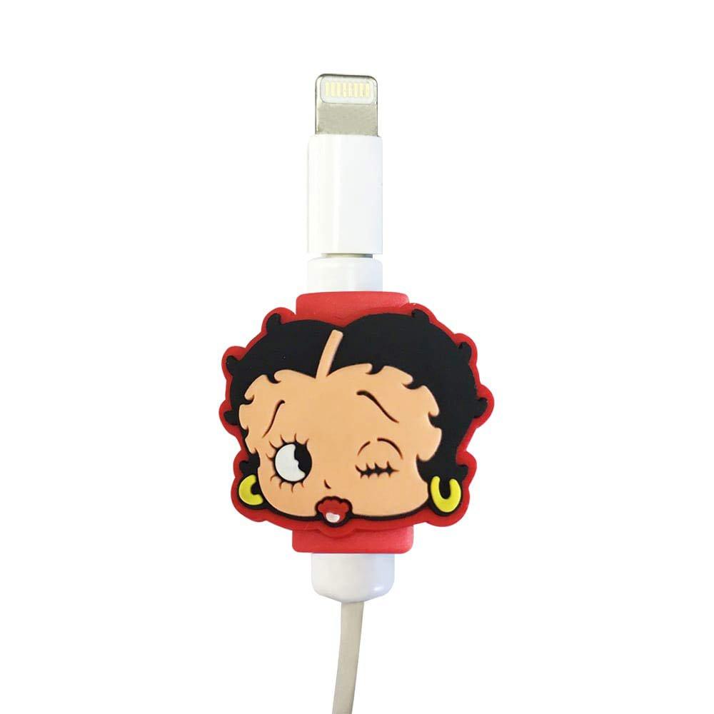 USBケーブルプロテクター(BETTY-RED)  BB