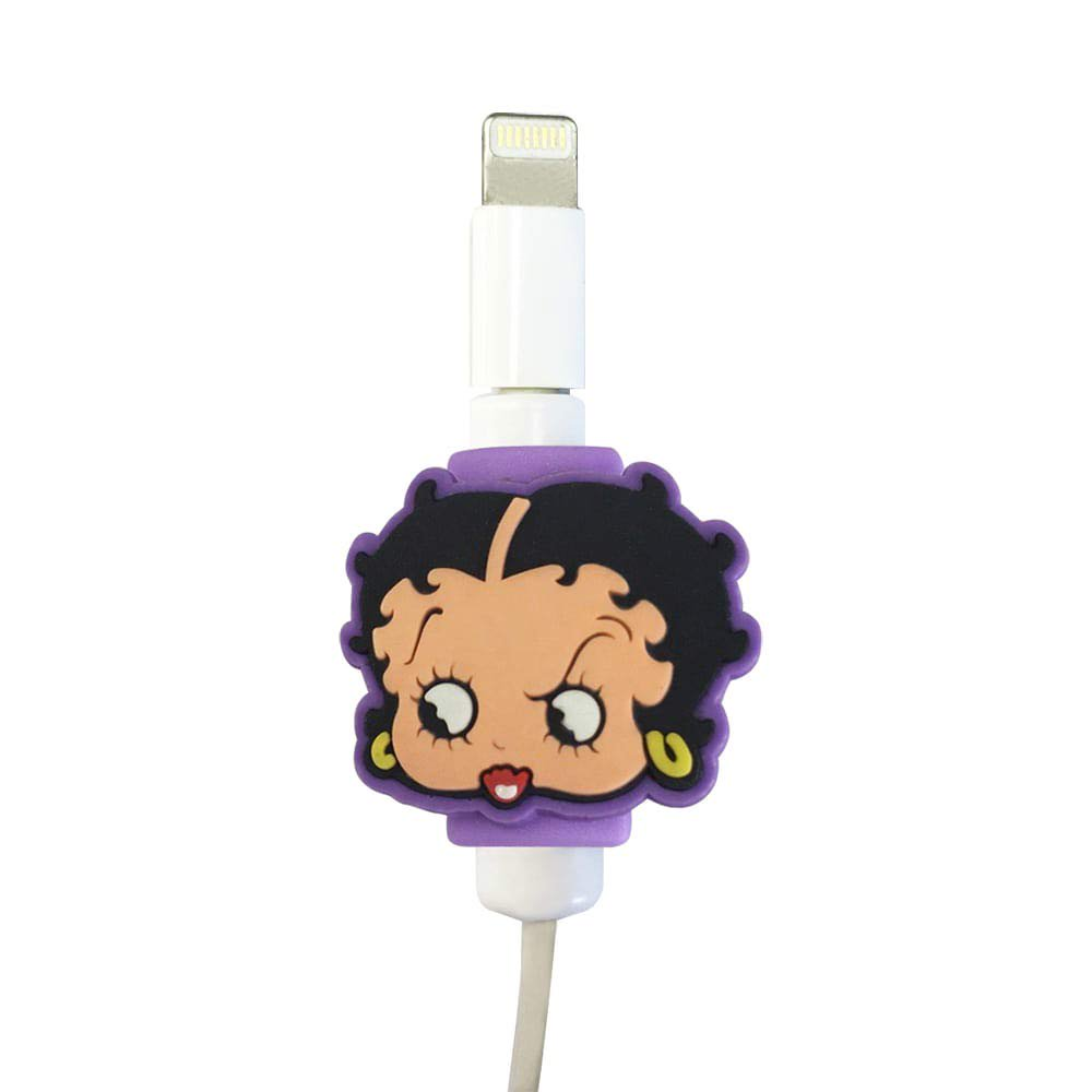USBケーブルプロテクター(BETTY-PURPLE)  BB