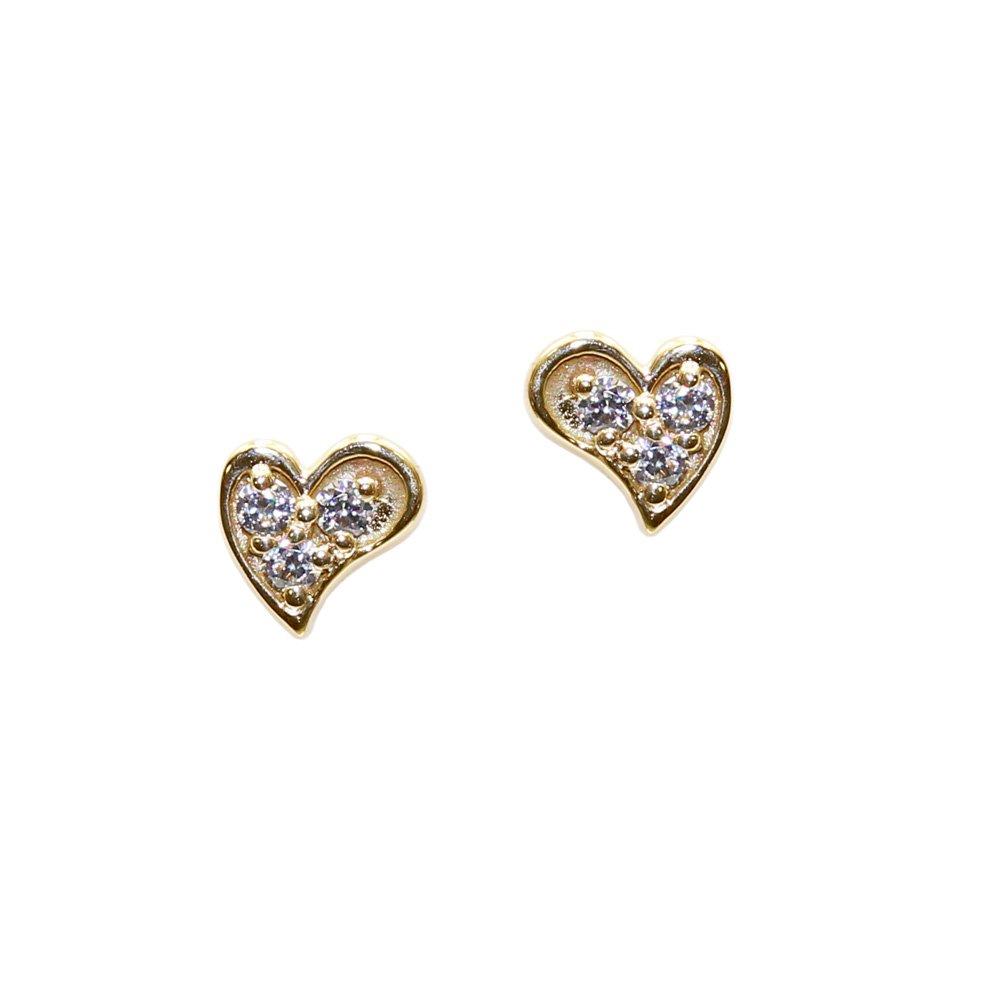 【お取寄せ】ピアス(Heart) JBY005550 BB