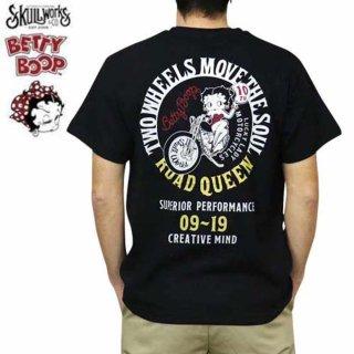 【SW×BETTY BOOP】Tシャツ(SW10thベティーMC)ブラック M BTY-56 BB