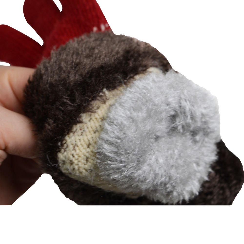 スマホ対応手袋(フェイス) BTAP116 BB