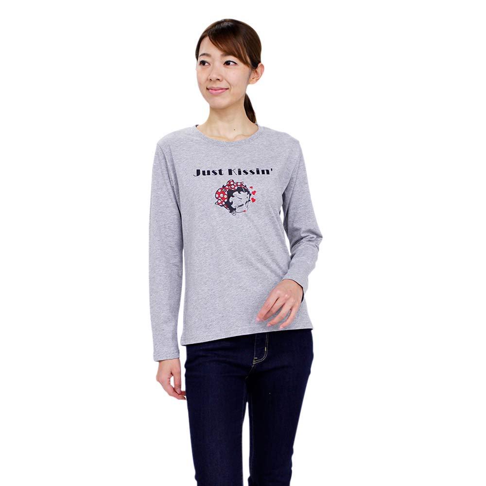 長袖Tシャツ(グレー)L 491752 BB