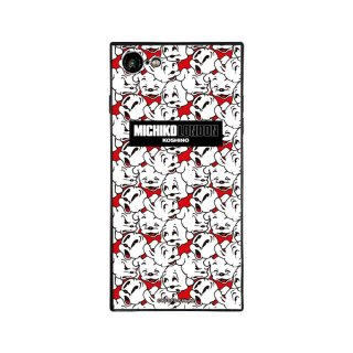 【MICHIKOLONDONコラボ】iPhone7/8対応ガラスケース(cutie pudgy)BJ-0011-IP78-WHIT BB