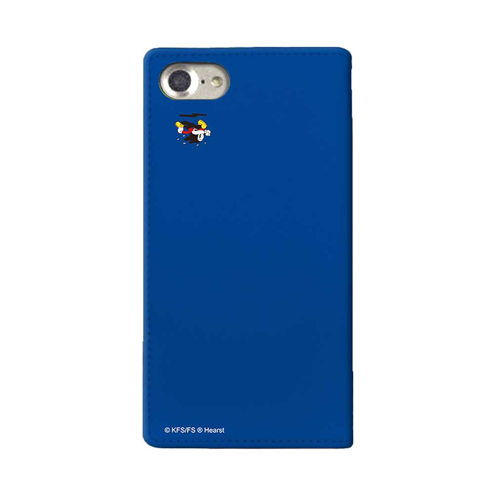 【MICHIKOLONDONコラボ】iPhone6/6s/7/8対応手帳ケース(cutie BIMBO) OD-0570-IP67-BLUE BB