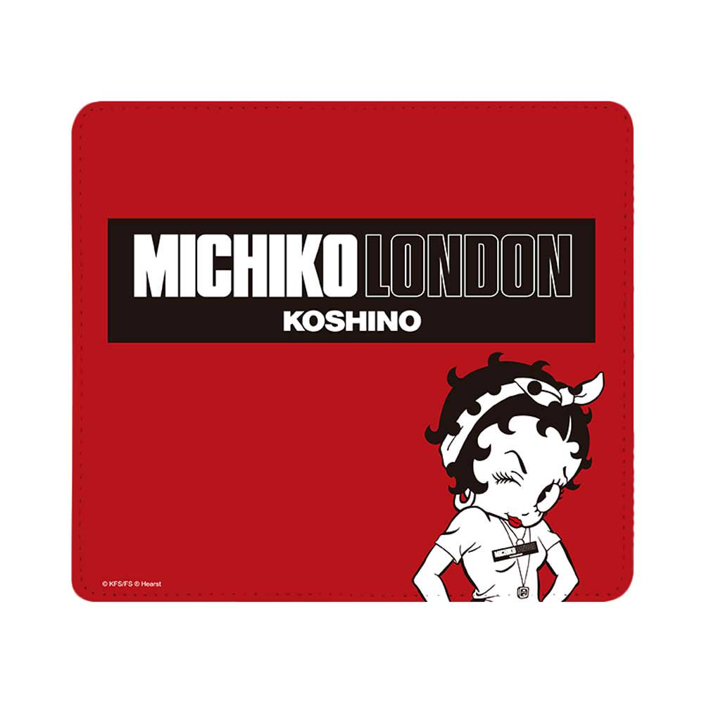 【MICHIKOLONDONコラボ】マルチ対応手帳ケース(street style) OD-0570-MLTI-REDD BB