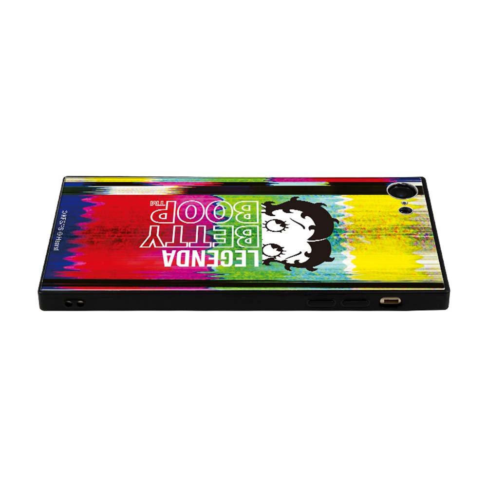 【LEGENDAコラボ】iPhone6/6s/7/8対応ガラスケース(Glitch)BJ-0009-IP78-MLTI BB