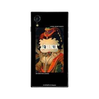 【LEGENDAコラボ】iPhoneXR対応ガラスケース(Lady Betty of Boop)BJ-0009-IPXR-BLAK BB
