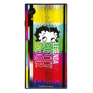 【LEGENDAコラボ】iPhoneXR対応ガラスケース(Glitch)BJ-0009-IPXR-MLTI BB