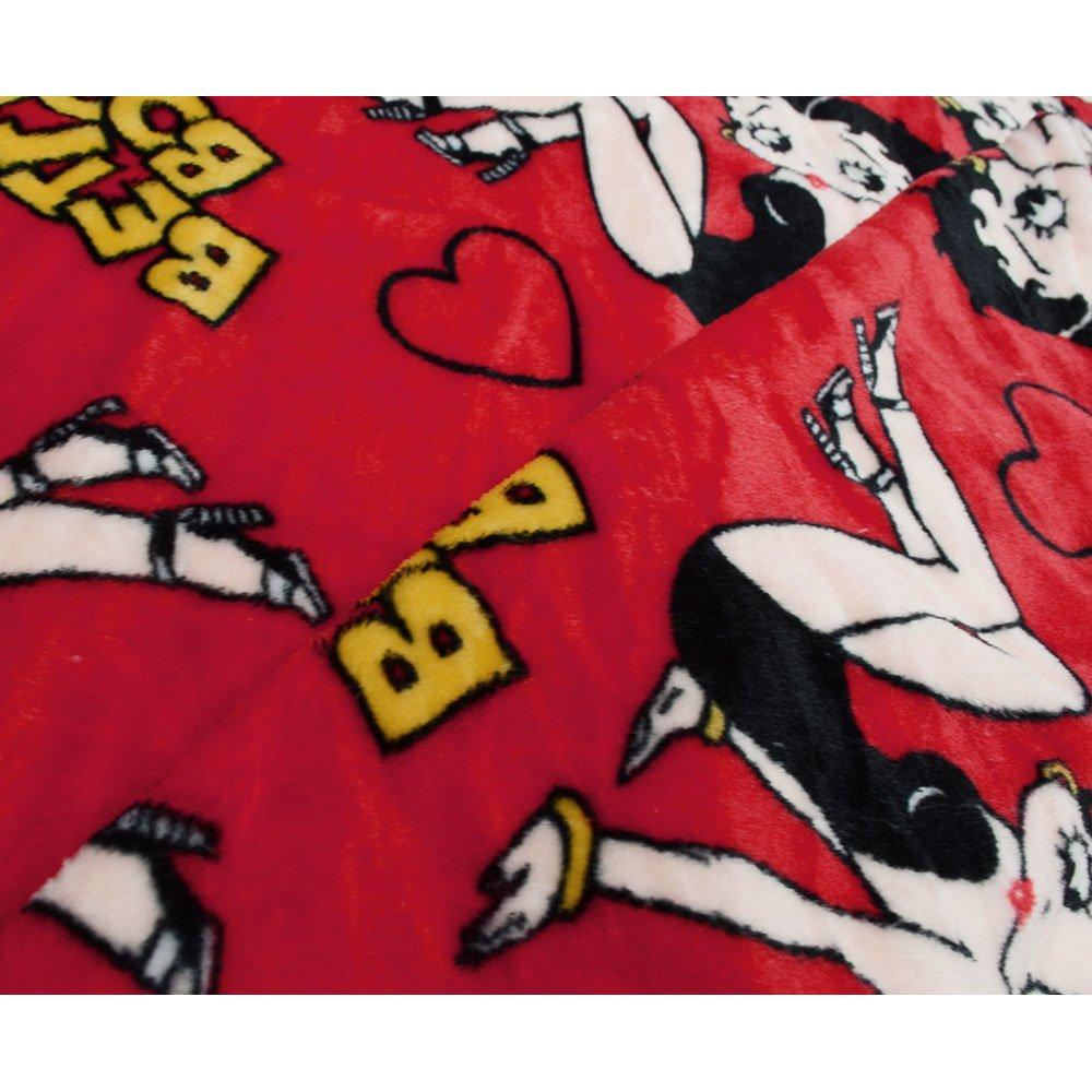 フランネルフリースブランケット(RED)BB003 BB