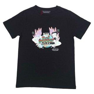 Tシャツ(レインボー)ブラック 91LT-52 BB