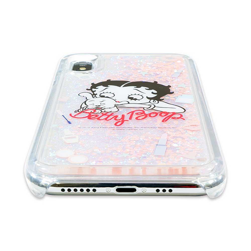 iPhoneXS/X対応 グリッターケース(Cosmetics) BL-0002-IP0X-ASST BB