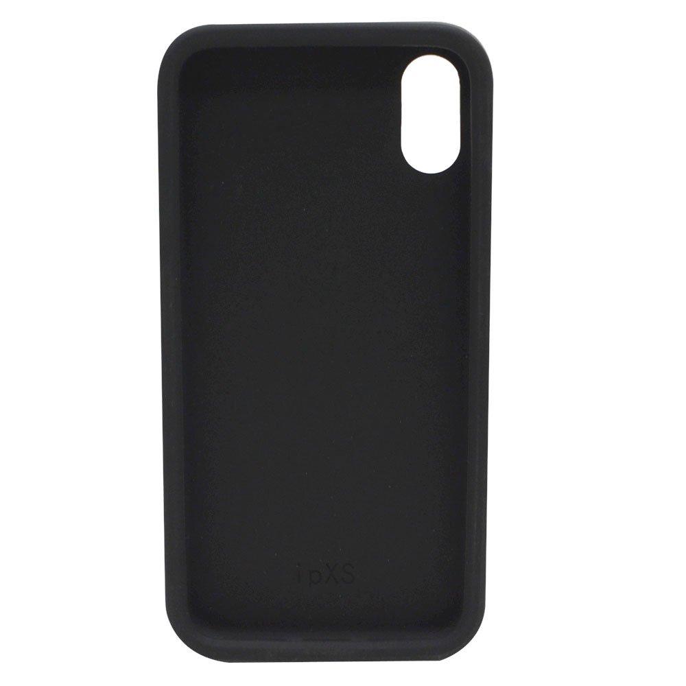iPhoneX/XS対応 シリコンジャケット(BT-BLACK)BB