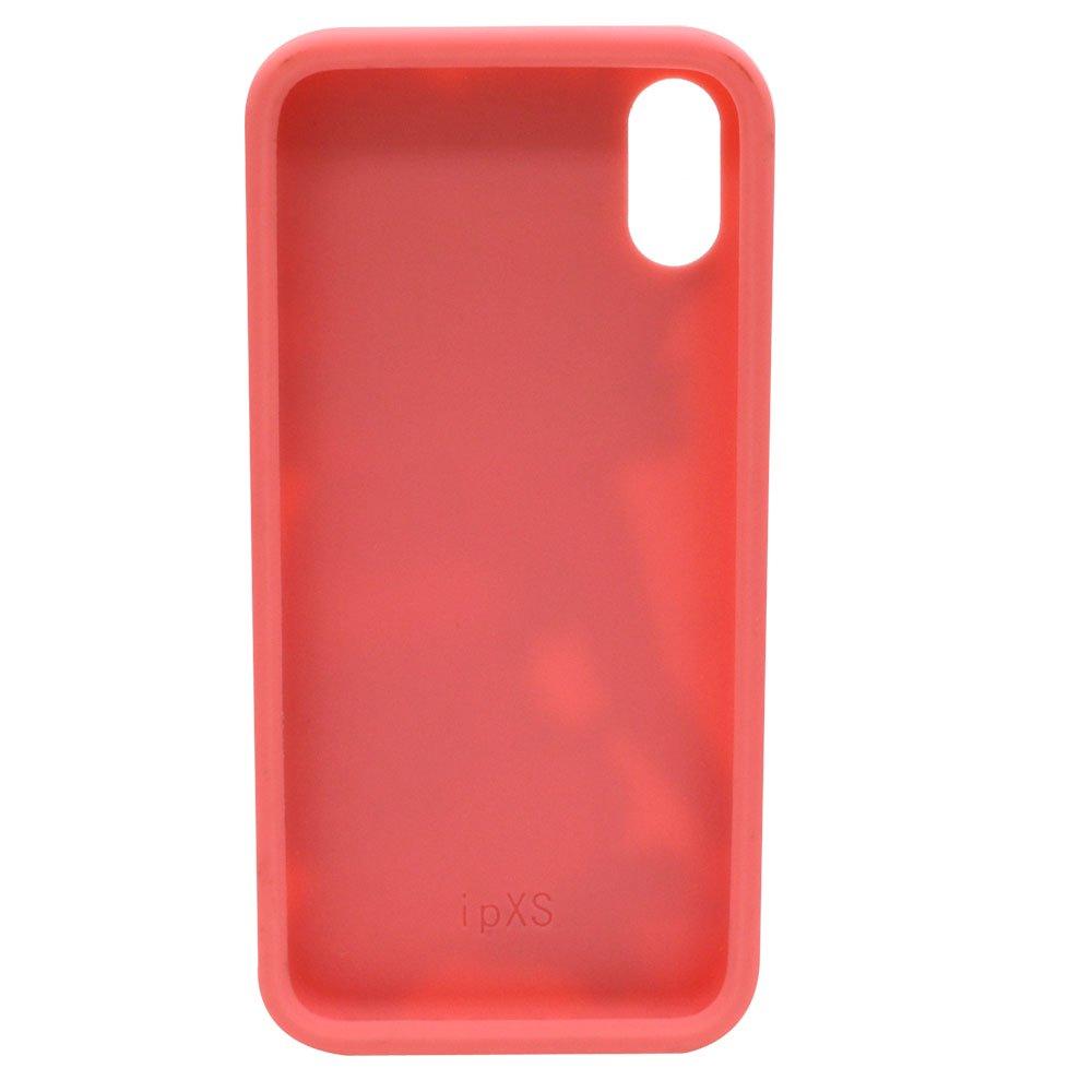 iPhoneX/XS対応 シリコンジャケット(BT-PINK)BB