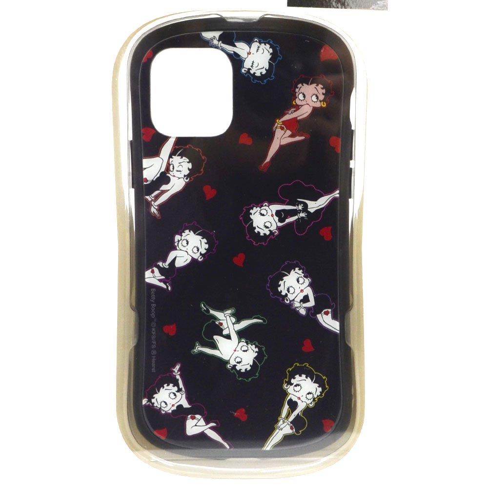 iPhone 11 Pro 対応ハイブリッドガラスケース(総柄)BT-41A BB