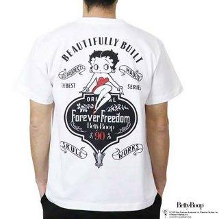 Tシャツ(クラシカルベティー)ホワイト L BTY-73 BB