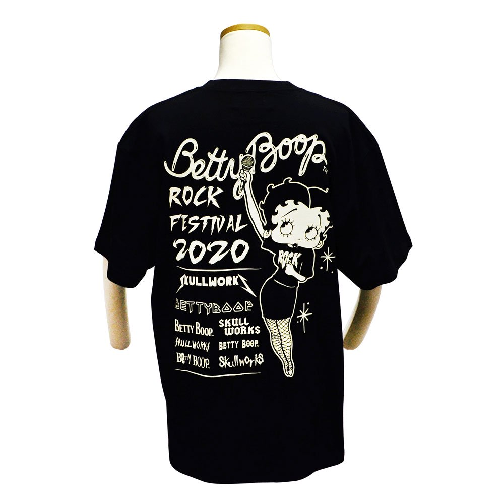 <img class='new_mark_img1' src='https://img.shop-pro.jp/img/new/icons11.gif' style='border:none;display:inline;margin:0px;padding:0px;width:auto;' />Tシャツ(ベティーフェス)ブラック L BTY-75 BB