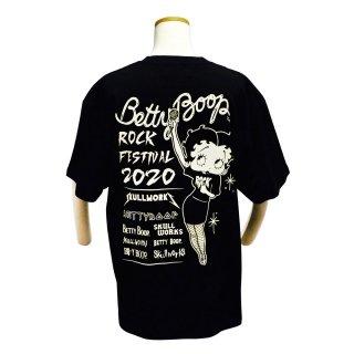 Tシャツ(ベティーフェス)ブラック L BTY-75 BB