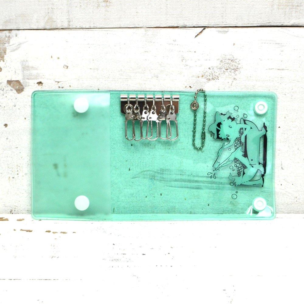 PVCキーケース(BETTY-GREEN)BB
